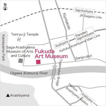 Fukuda Art Museum Access Map