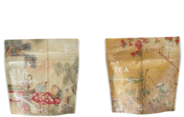 Green tea / Roasted tea (5 bags)