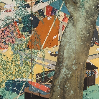Umayaji no Haru (Spring of a Main Road) (1913)