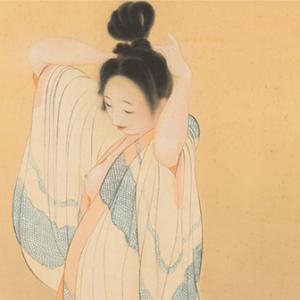 「婦女図屏風(ふじょずびょうぶ)」〈1925年〉