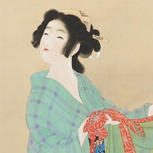 「美人観月(びじんかんげつ)」〈1767年〉